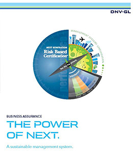 Next Generation Risk Based Certification by DNV GL